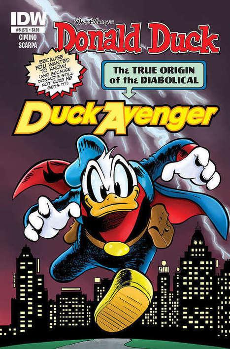 Il ritorno del Duck Avenger - Lo Spazio Bianco | DailyComics | Scoop.it