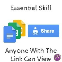 Essential Google Docs Skill: Anyone With The Link Can View - Teacher Tech | Formación TIC | Scoop.it