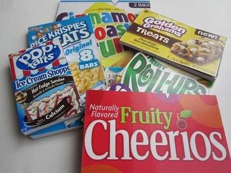 Cereal Box Crafts: Notepads | Market Day Ideas