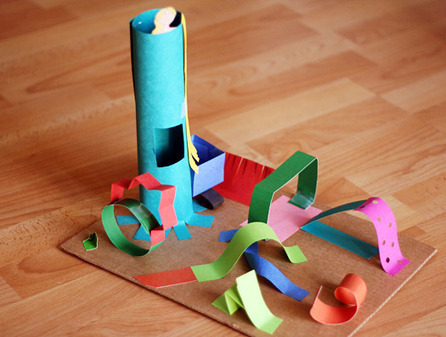 Creating 3-D Paper Sculptures With Kids | Make and Takes | Jardim de Infância | Scoop.it