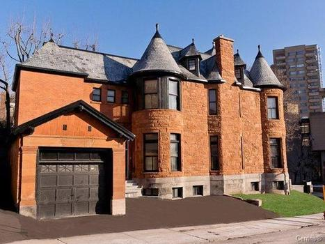 Stunning Heritage Restoration | 1595 Av. du Docteur-Penfield, Ville-Marie (Montréal), QC | Luxury Real Estate Canada | Scoop.it