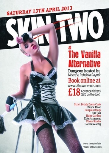 Skin Two at Springtime Party: Saturday 13th April | LFN - latex fetish news | Scoop.it