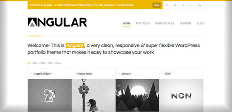 20 Thèmes Exceptionnels sortis en Janvier pour Débuter 2012 en Beauté   Webdesign Freebies   Scoop.it