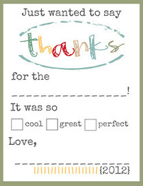 Toad's Treasures: THANKS Printables for the Kiddos | Technology in (Spl) Education | Scoop.it
