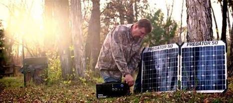 This portable solar charger is big enough to be your emergency home power source | BOB to BOL by BOV | Scoop.it