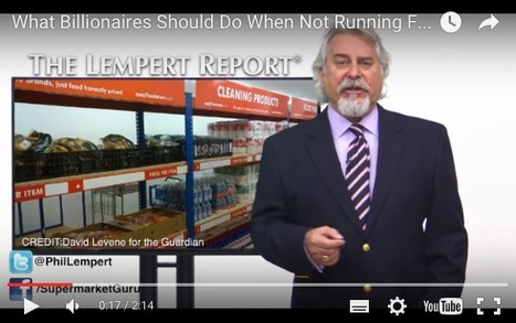 SupermarketGuru - What Billionaires Should Do When Not Running For President | Charliban Worldwide | Scoop.it