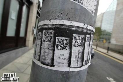 Hacked IRL: Dublin's DigitalLibrary | QR Code en Bibliothèques | Scoop.it