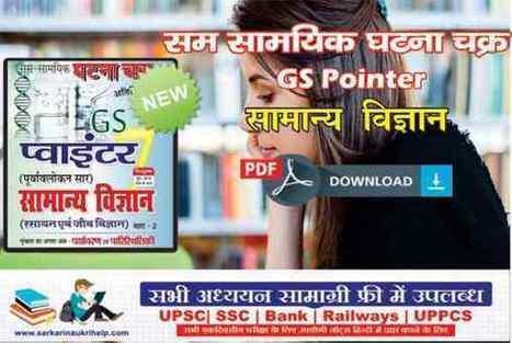 Sam Samayik Ghatna Chakra GS Pointer Samanya Vi
