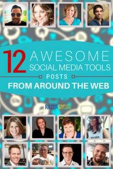 12 Awesome Social Media Tool Posts from Around the Web   @IanCleary   brand influencers social media marketing   Scoop.it
