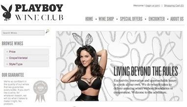 Playboy lance un club pour les amateurs de vins | Communication Vin | Scoop.it