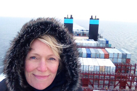 Hitching A Ride On The World's Biggest Cargo Ship | Human Geography | Scoop.it