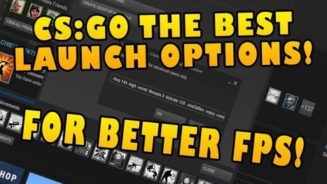 Cs go launch options