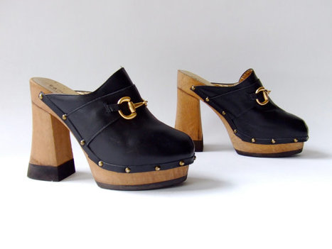 Vintage 1970s designer vintage platforms | Gorgeous Vintage I Crave! | Scoop.it