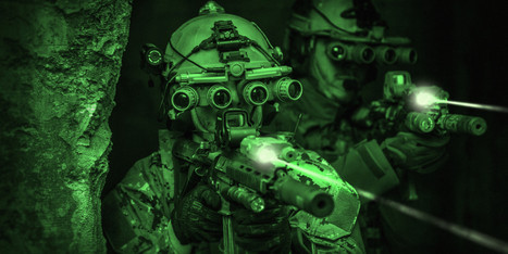 Night-Vision Contact Lenses That Use Infared Technology may soon be Military Issue   Technology in Business Today   Scoop.it