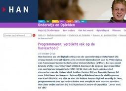 Moeten digitaal vaardige leraren kunnen programmeren?   De integratie van ICT-e in het curriculum van de lerarenopleiding   Scoop.it