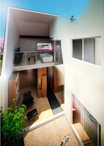Hansha Reflection House: Modern Timber Structure | Healthy Homes Chicago Initiative | Scoop.it