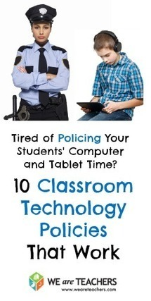 10 Classroom Technology Policies That Work | Integração curricular das TIC | Scoop.it