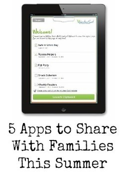 5 Apps for Summer Learning and Organization | Better teaching, more learning | Scoop.it