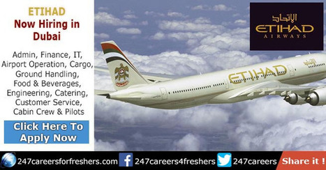 Etihad Airways Careers in Abu Dhabi & Acros