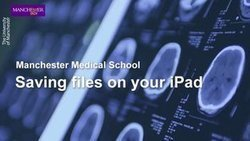 Search videos for manchester medical school on Vimeo | Use of iPads in HE | Scoop.it