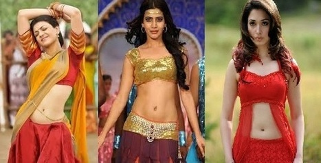 South Indian Actress Hot Navel Show Photos
