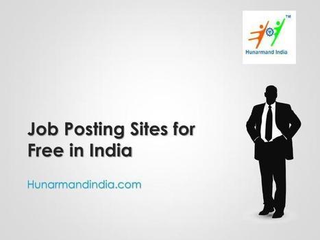 job posting sites for free india hunarmandindiacom