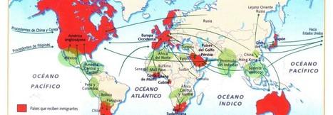 Las grandes migraciones de la historia en mapas | GEOGRAFIA SOCIAL | Scoop.it