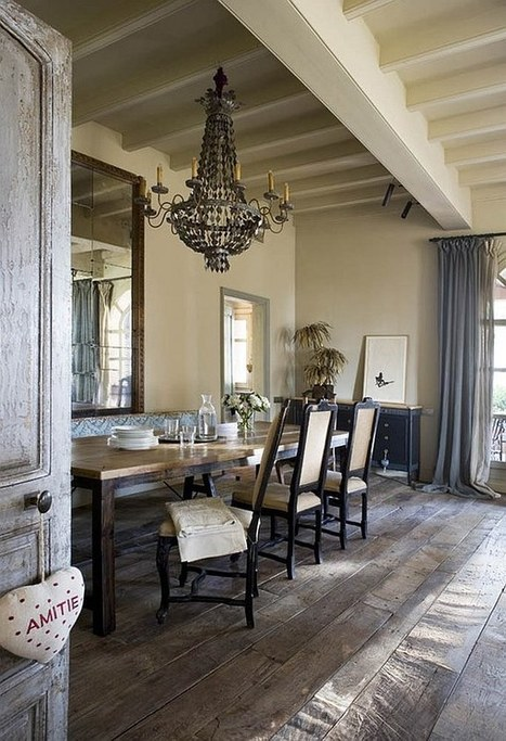 Decorating with a Vintage Farmhouse Inspiration | XZQT | Vintage Kitchens | Scoop.it