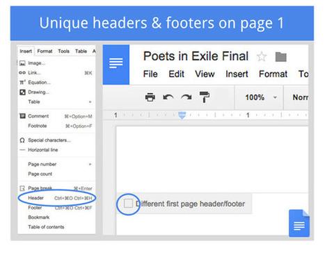 Nuevas características en los documentos de Google que facilitan el trabajo académico | google + y google apps | Scoop.it