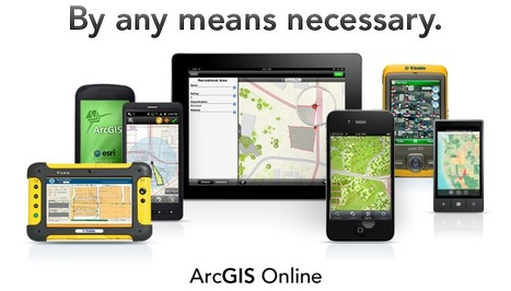 Access your maps wherever you are, at any time Try it for free | ArcGIS Online | ArcGIS Geography | Scoop.it