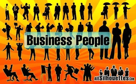 Vector Business People | All Silhouettes | DSLR video and Photography | Scoop.it