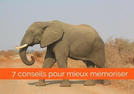7 conseils pour mieux mémoriser | Sites pour le Français langue seconde | Scoop.it