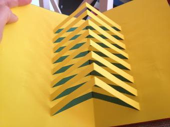 libro de fractales y kirigami origami amp k