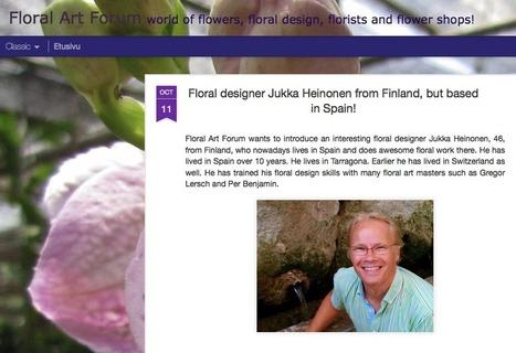 Floral Art Forum bloc y su articulo de artesaniaflorae « Artesaniaflorae | artesaniaflorae | Scoop.it