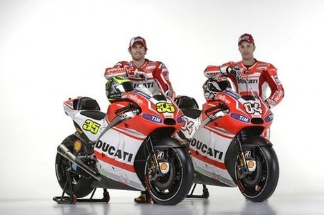 Ducati Desmosedici GP14 new livery unveiled | Ducati & Italian Bikes | Scoop.it