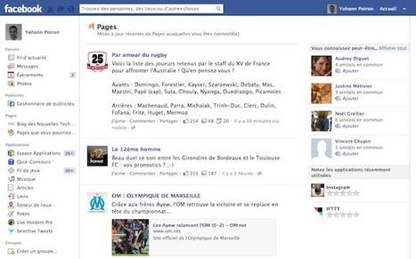 Facebook expérimente le flux d'activités des Pages dans une même interface | BlogNT : Le Blog des Nouvelles Technologies dédié au Web, aux nouvelles technologies et au développement Web | MediaBrandsTrends | Scoop.it