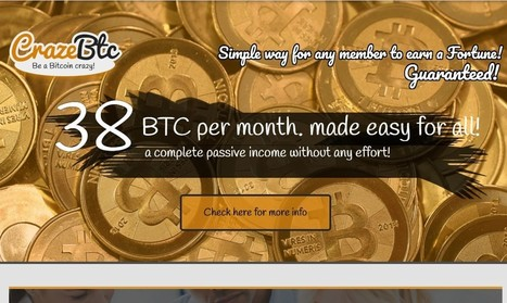 Join CrazeBTC Today and Turn $7 in to $27,000 A Month | Internet Marketing | Scoop.it