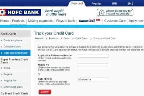 Credit Card Status Scoop It