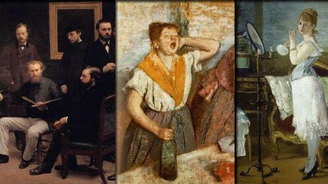 Trois tableaux que Zola aurait pu peindre | Arts et FLE | Scoop.it