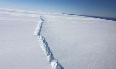 West Antarctic ice shelf breaking up from the inside out   iScience Teacher   Scoop.it