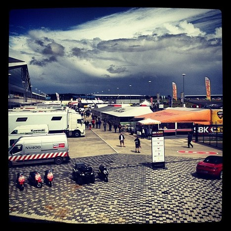 Sparkysav's photo | Instagram | Silverstone - View of the paddock | Ductalk Ducati News | Scoop.it