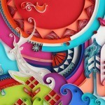 Paper Art by Yulia Brodskaya   freehand illustration and graphic design   Scoop.it