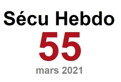 Sécu Hebdo 55 du 20 mars 2021
