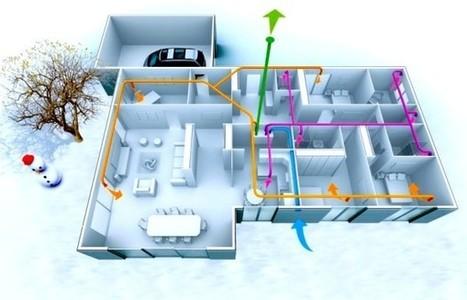 L'efficacité de la VMC double flux et l'étanchéité du bâti | Réhabilitations, Rénovations, Extensions & Ré-utilisations...! | Scoop.it