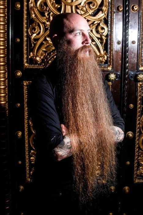 Meet the man with Britain's longest beard at more than 2 feet | Strange days indeed... | Scoop.it