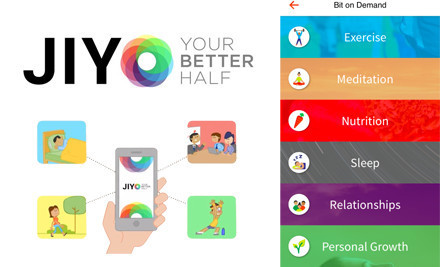 Deepak Chopra launches Jiyo, a wellness-focused mobile app | UX-UI-Wearable-Tech for Enhanced Human | Scoop.it
