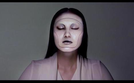 VIDEO. Un Japonais invente le maquillage électronique - 20minutes.fr | art move | Scoop.it
