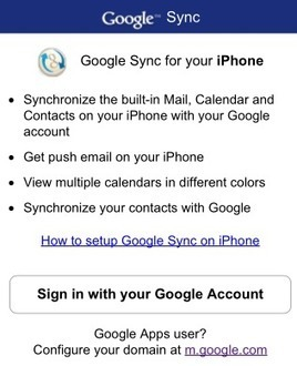 Astuce : synchroniser Google Agenda avec votre iPhone | Time to Learn | Scoop.it