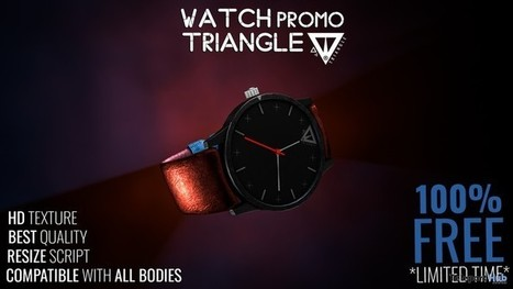 Promo Watch Limited Time Free Gift by Triangle