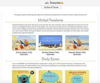 "Bringing Us Authors, Songwriters, Art, and Their Stories Through The buncee ""Author's Corner"" 